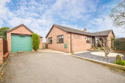 3 Bedrooms Bungalow for sale in Shellbrook Close, Ashby de La Zouch, Leicestershire
