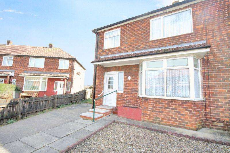 3 Bedrooms Semi Detached House for sale in St Cuthberts Walk, Liverton Mines