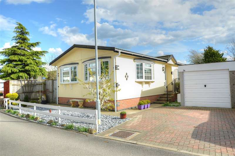 2 Bedrooms Park Home Mobile Home for sale in Lindum Park, Ruskington