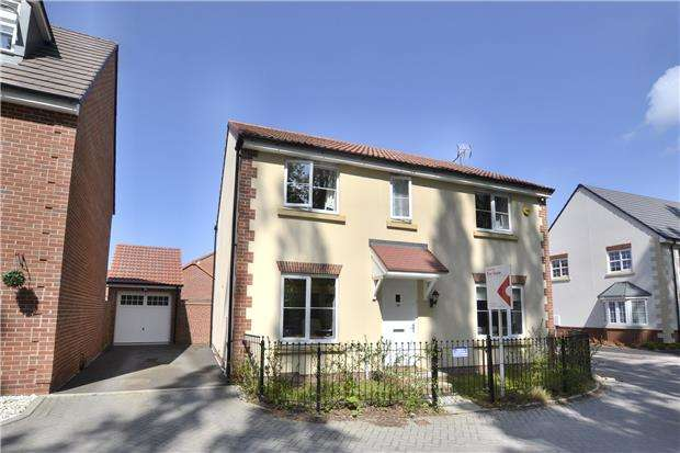4 Bedrooms Detached House for sale in Southrop Road, Kingsway, Quedgeley, Gloucester, GL2 2HN