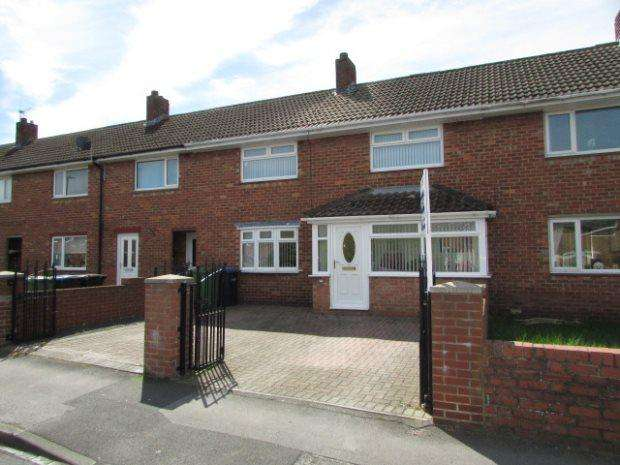 3 Bedrooms Terraced House for sale in NORTH DRIVE, SPENNYMOOR, SPENNYMOOR DISTRICT
