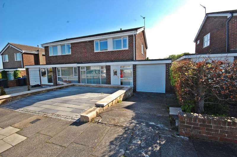 3 Bedrooms Semi Detached House for sale in Auckland Road, Newton Hall, Durham