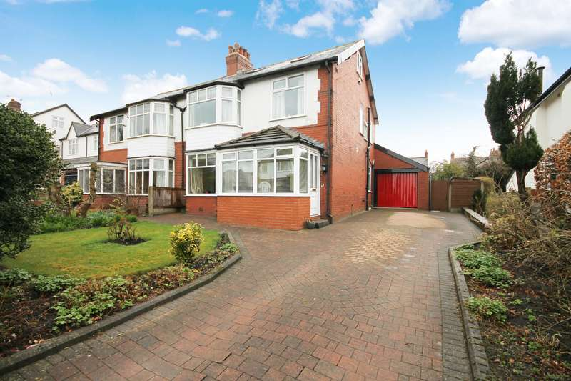 4 Bedrooms Semi Detached House for sale in Sherbourne Road, Bolton, BL1 5NN