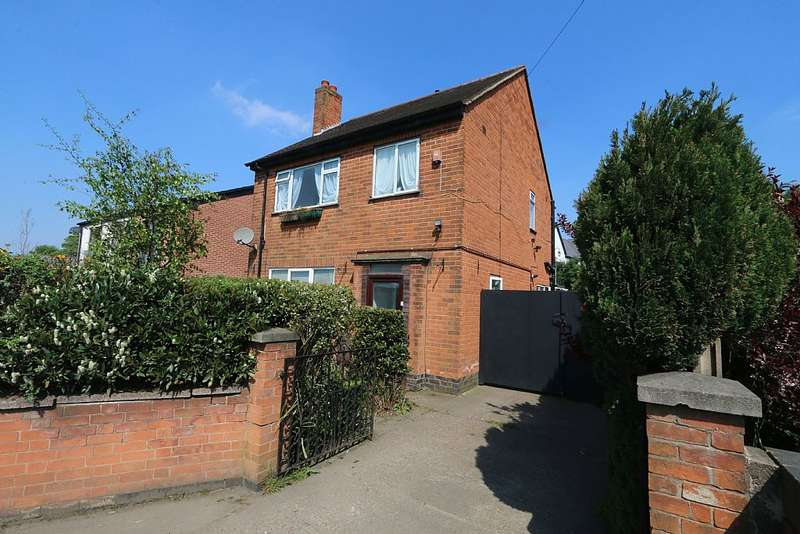 3 Bedrooms Detached House for sale in Swadlincote Road, Woodville, Swadlincote, Derbyshire, DE11 8DE