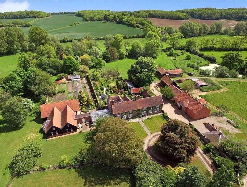 7 Bedrooms Detached House for sale in Sweffling, Nr Saxmundham, Suffolk, IP17