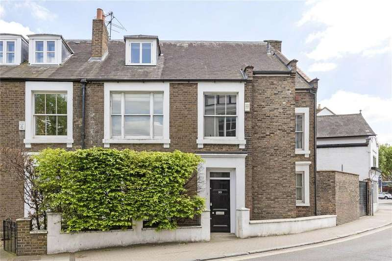 5 Bedrooms End Of Terrace House for sale in The Terrace, Barnes, London, SW13