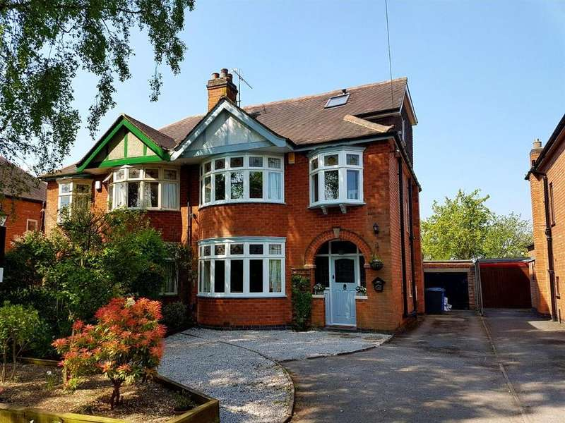 5 Bedrooms Semi Detached House for sale in Station Road, Mickleover, Derby