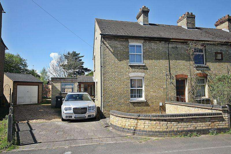 2 Bedrooms End Of Terrace House for sale in Chapel Road, Flitwick
