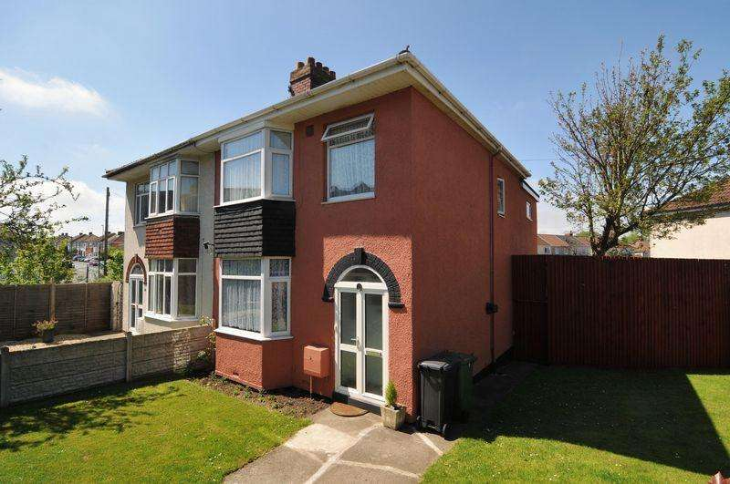 3 Bedrooms Semi Detached House for sale in Cadogan Road, Hengrove, Bristol, BS14