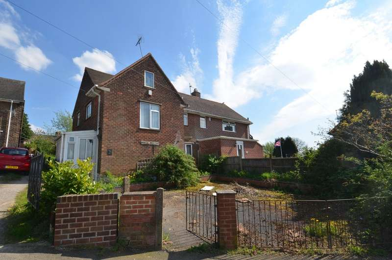 3 Bedrooms Semi Detached House for sale in Monsall Crescent, Tibself, Alferton DE55