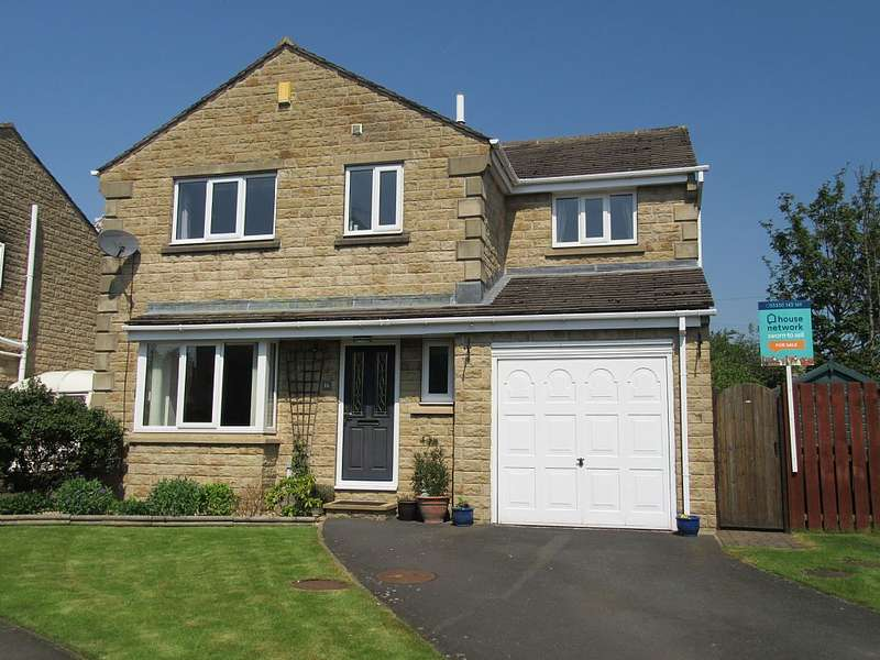 4 Bedrooms Detached House for sale in Spinners Way, Scholes, Cleckheaton, West Yorkshire, BD19 6NW