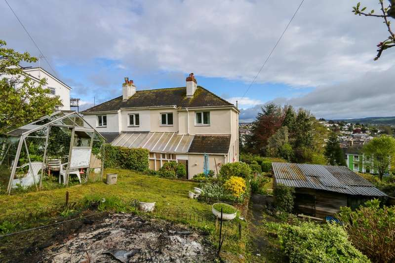 3 Bedrooms Semi Detached House for sale in Powderham Road, Newton Abbot