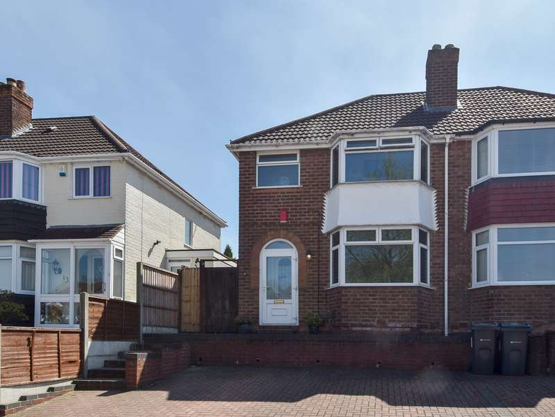 3 Bedrooms Semi Detached House for sale in Green Acres Road, Kings Norton, Birmingham, B38