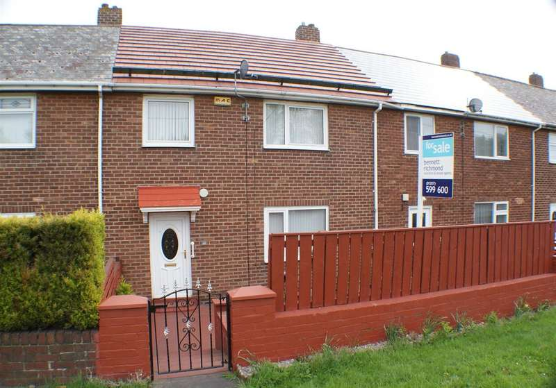 3 Bedrooms Terraced House for sale in Berksyde, Consett