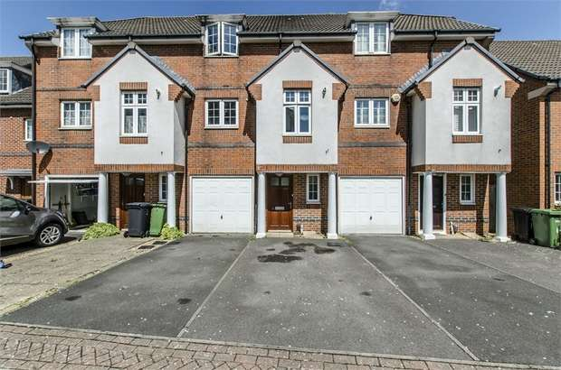 4 Bedrooms Town House for sale in Loveridge Way, Eastleigh, Hampshire