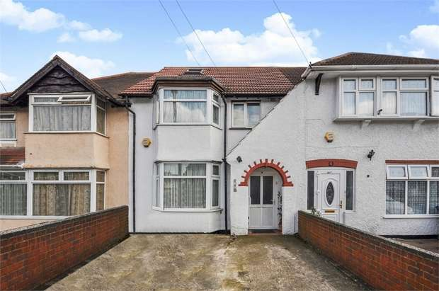 4 Bedrooms Terraced House for sale in Allenby Road, Southall, Greater London