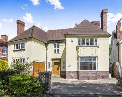 5 Bedrooms Detached House for sale in Welford Road, Leicester, Leicestershire