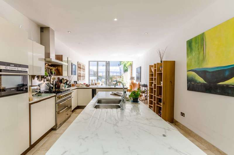 4 Bedrooms Terraced House for sale in 'The Warehouse' Saville Road, Chiswick, W4