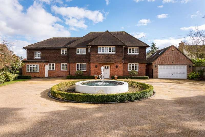 6 Bedrooms Detached House for sale in Holmemoor Drive, Sonning, Reading, RG4