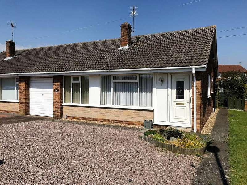 3 Bedrooms Semi Detached Bungalow for sale in Holborn Road, Spalding, PE11