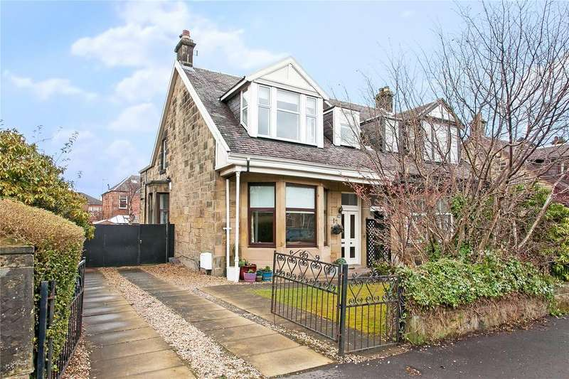 4 Bedrooms Semi Detached House for sale in Manor Road, Jordanhill, Glasgow