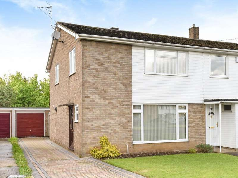 3 Bedrooms Semi Detached House for sale in Edenham Crescent, Reading, RG1