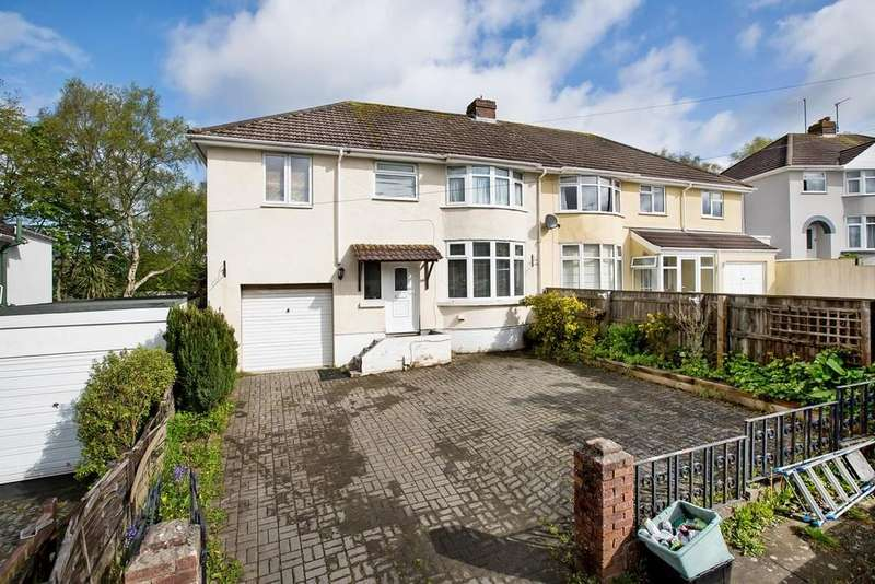 5 Bedrooms Semi Detached House for sale in Windsor Avenue, Newton Abbot