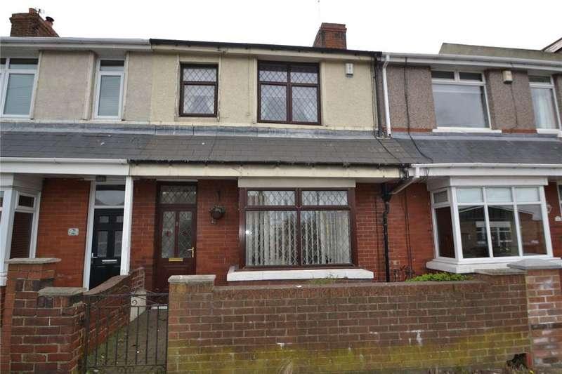 3 Bedrooms Terraced House for sale in Glebe Terrace, Easington, Peterlee, Co.Durham, SR8