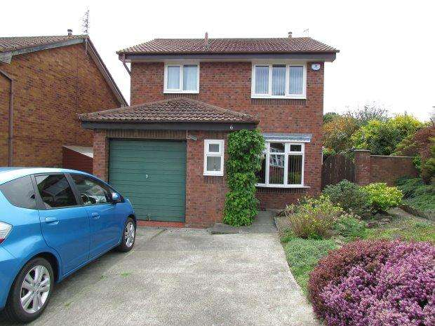3 Bedrooms Detached House for sale in SADDLESTON CLOSE, NAISBERRY PARK, HARTLEPOOL