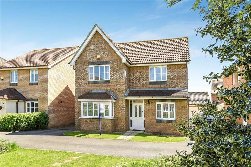 4 Bedrooms Detached House for sale in Blanchland Circle, Monkston, Milton Keynes, Buckinghamshire