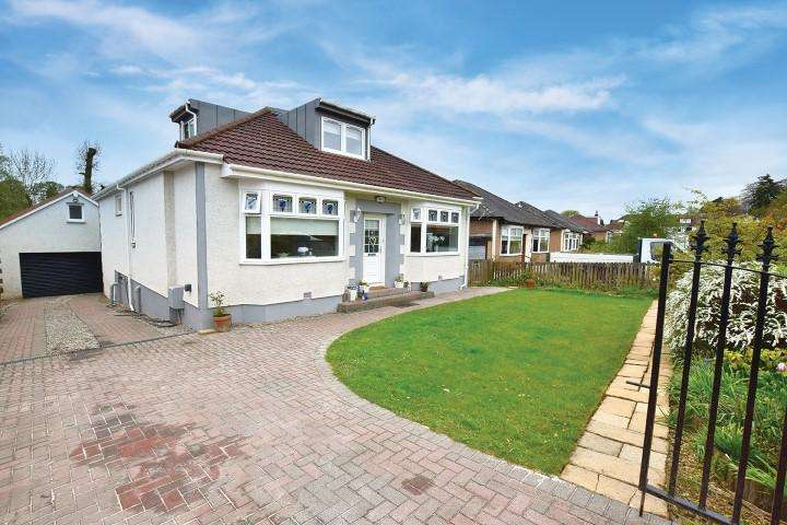 4 Bedrooms Detached Bungalow for sale in 5 Cluny Avenue, Bearsden, G61 2JQ
