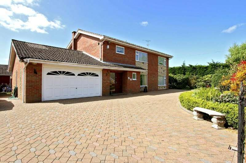 4 Bedrooms Detached House for sale in Chapel Lane, Toftwood