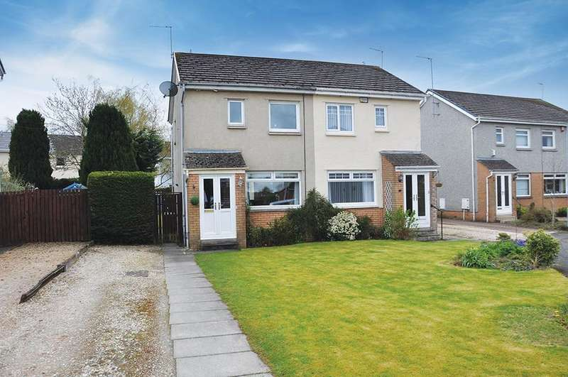 2 Bedrooms Semi Detached House for sale in Maybole Grove, Newton Mearns, Glasgow, G77