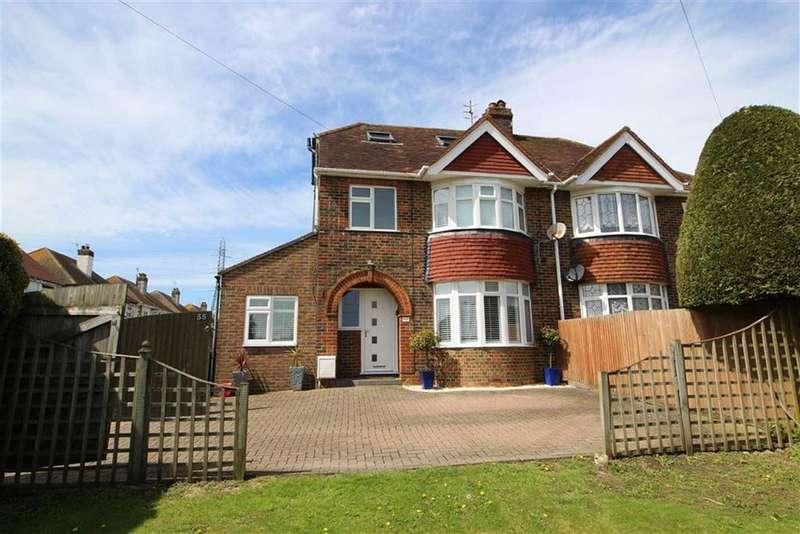 5 Bedrooms Semi Detached House for sale in Mile Oak Road, Portslade, East Sussex