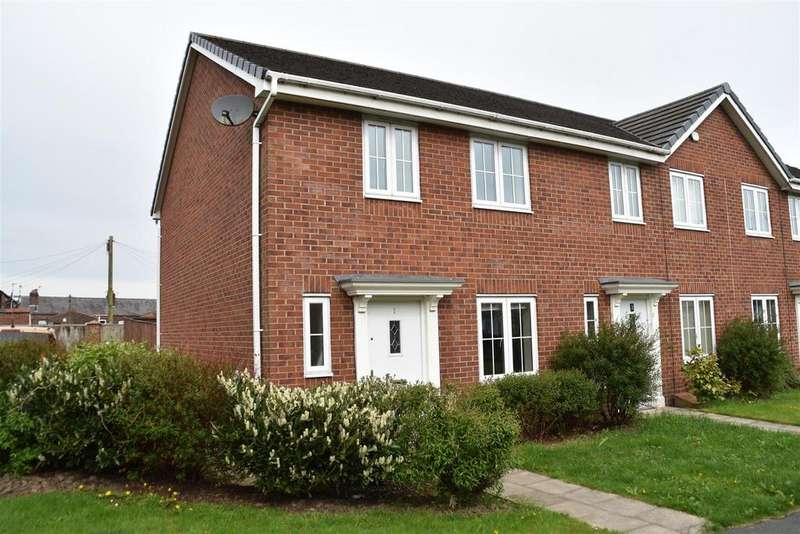3 Bedrooms End Of Terrace House for sale in Albion Walk, Chorley