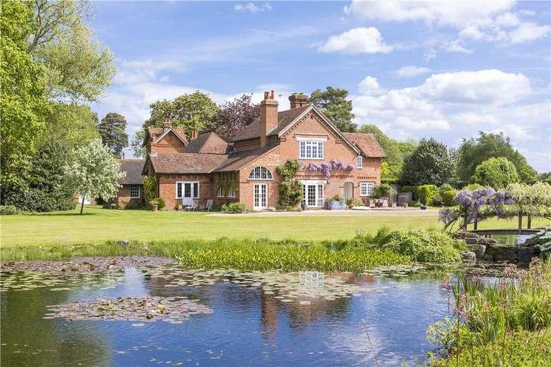 5 Bedrooms Detached House for sale in School Lane, Ockham, Woking, Surrey, GU23