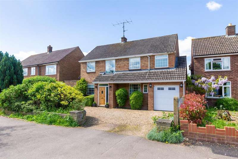 4 Bedrooms Detached House for sale in Highfield, Letchworth Garden City