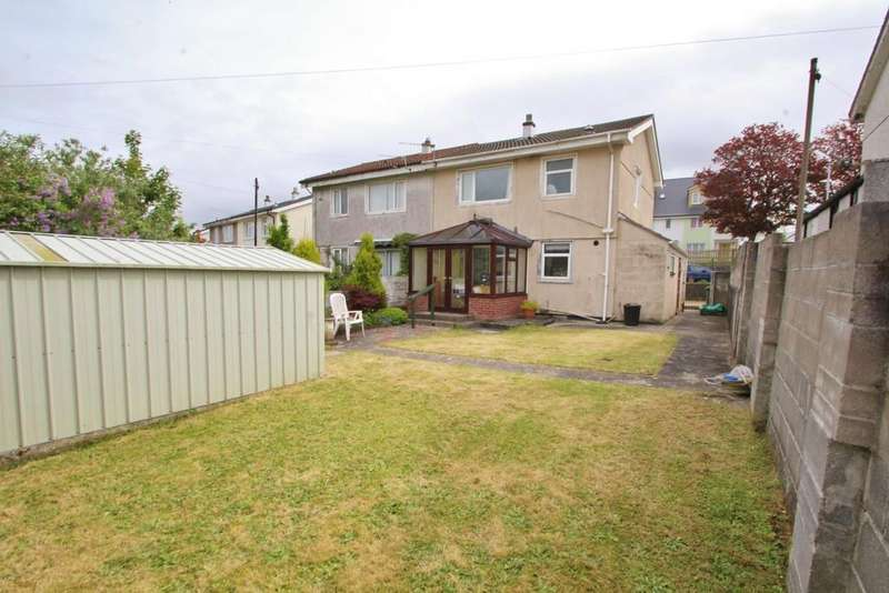 3 Bedrooms Semi Detached House for sale in Jedburgh Crescent, Plymouth