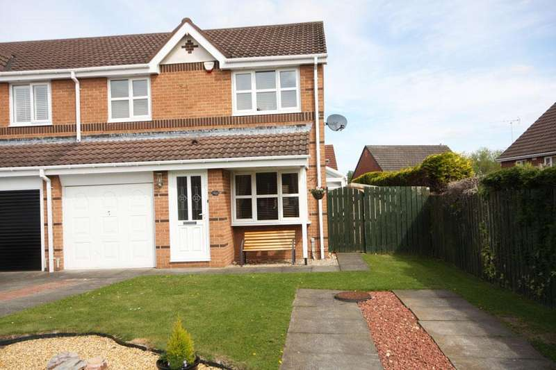 3 Bedrooms Semi Detached House for sale in Brantwood, Chester-le-Street, DH2 2UL