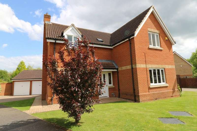 4 Bedrooms Detached House for sale in Grove Close, Highfields Caldecote