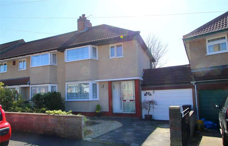 3 Bedrooms Semi Detached House for sale in Beckington Road Knowle Bristol BS3