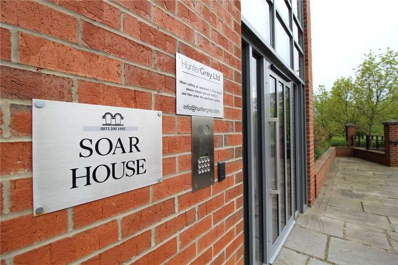 2 Bedrooms Flat for rent in Soar House, St. Marys Road, Market Harborough, Leicestershire, LE16