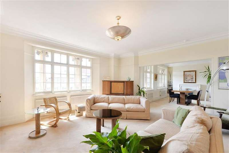 3 Bedrooms Flat for sale in Manor House, Marylebone, Marylebone, London, NW1