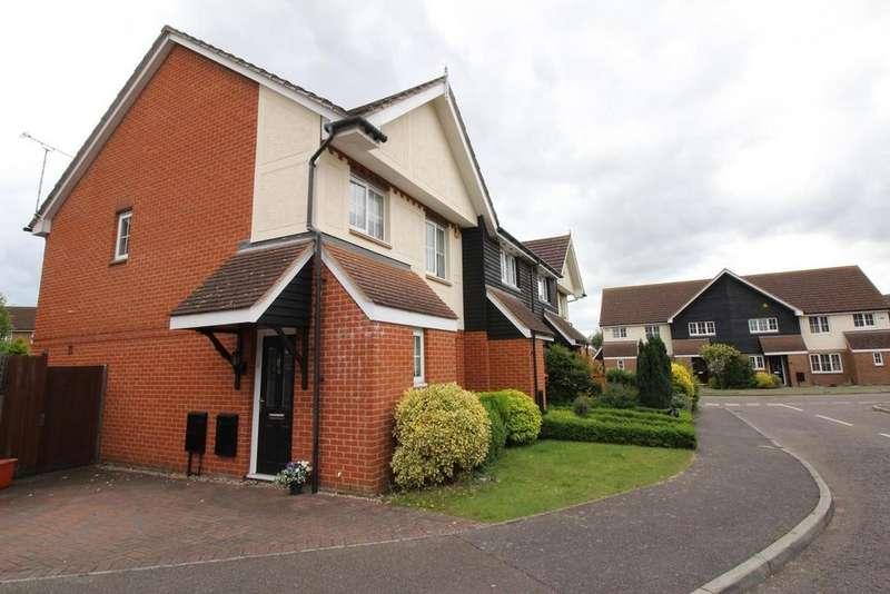 3 Bedrooms Semi Detached House for rent in Magenta Close, Billericay, Essex, CM12
