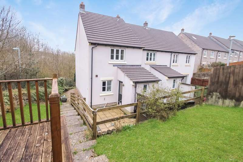 2 Bedrooms End Of Terrace House for sale in The Gallops, Pillmere, Saltash