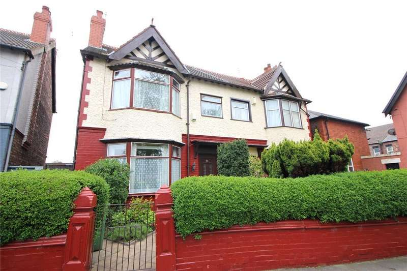 4 Bedrooms Semi Detached House for sale in Bankfield Road, Liverpool, Merseyside, L13