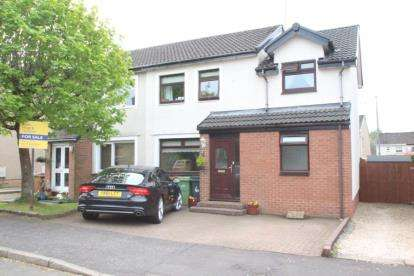 3 Bedrooms Semi Detached House for sale in Prestwick Place, Newton Mearns