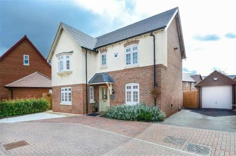 4 Bedrooms Detached House for sale in Red Cross Way, Churchfields, Nuneaton, CV10