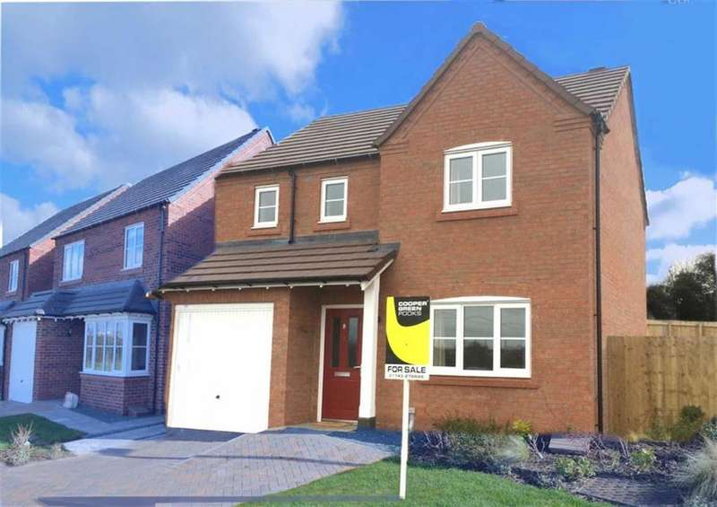 3 Bedrooms Detached House for rent in Redwing Fields, Shrewsbury