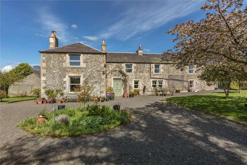 4 Bedrooms Detached House for sale in Easter Lilliesleaf House, Lilliesleaf, Melrose, Scottish Borders